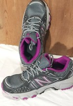 New Balance Womens WTE412S1 Trail Running Shoes Sneakers Gray Purple Size 6 -S24 - $19.80