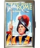 PAN AM CLIPPER, ROME CIGARETTE MONEY CARD CASE ... - $16.99