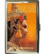 PAN AM THAILAND PRETTY! CIGARETTE MONEY CARD CA... - $16.99