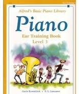 Alfred's Basic Piano Ear Training Book Level 3 - $5.95