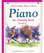 Alfred's Basic Piano Ear Training Book Level 4 - $7.50