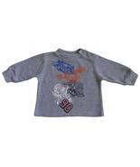 U.S. Polo Assn. 3/6 Mos. Baby Boys Gray Thermal Top - $3.99