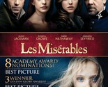 LES MISERABLES - BLU-RAY/DVD/DIGITAL COPY COMBO [2 DISCS] - NEW UNOPENED