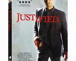 JUSTIFIED DVD - THE COMPLETE FIRST SEASON [3 DISCS] - NEW UNOPENED