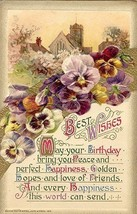 Best Birthday Wishes  Winsch post card - $3.00