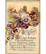 Best Birthday Wishes  Winsch post card - $3.00