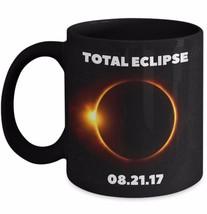 Solar Eclipse 2017 Commemorative Mug Total Eclipse Coffee Cup Black Ceramic 11 - $22.39+