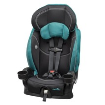 Evenflo Chase LxHarnessed Booster Car Seat Asher teal, black - $125.20