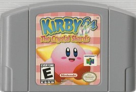 Kirby 64: The Crystal Shards (Nintendo 64 , 2000) - $22.12