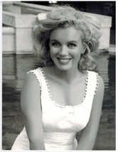 Marilyn Monroe Smile CSF Vintage 16X20 BW Movie Memorabilia Photo - $29.95