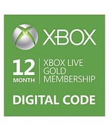 12-Month{1 year} Xbox 360/ONE Live Gold Members... - $52.44