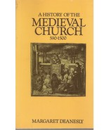 BOOK-History of the Medieval Church, 590-1500 - $14.99