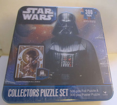 Star Wars Puzzle Set Collectors 2 Puzzles 800 Pieces Poster Cardinal New... - $21.03