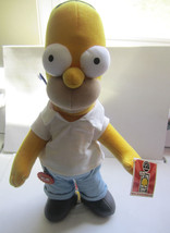 SIMPSONS 300th Episode LARGE PLUSH w/ Stand HOMER Applause 2002 Figure - $15.14