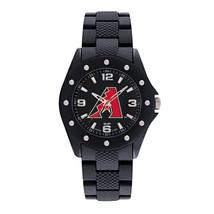 MLB Mens Game Time Breakaway Series Logo Watch Black PU Texture Strap - $39.95