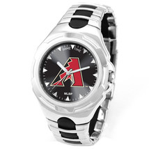 MLB Mens Game Time Victory Sports Logo Watch Adjustable sport buckle - $69.95