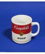 Campbells Soup Mug Coffee Cup Soup Can 12 oz.1981 Corning Glass Works Po... - $19.99