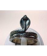 Vintage COBRA SNAKE Sterling Silver Ring - Size 9 1/4 - FREE SHIPPING - $35.00