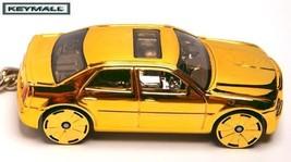 KEY CHAIN GOLD CHRYSLER 300C HEMI 300 PORTE CLE LLAVERO LIMITED EDITION ... - $28.95