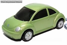 RARE KEY CHAIN GREEN VW NEW BEETLE CUSTOM KEY RING SEE PHOTO BELOW 1/64 R - $23.33