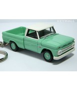 RARE KEY CHAIN RING GREEN 63/64/65/66 CHEVROLET PICKUP C10 TRUCK NEW 1/6... - $59.95