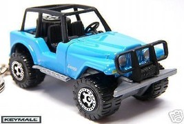 RARE KEY CHAIN BLUE JEEP WRANGLER 4X4 CJ5 CJ7 C... - $33.99