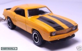 Key Chain 67/68/69 1968~1969 Orange Yellow Chevy Camaro See Photo Below 1/64 R - $38.98