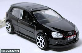 KEYCHAIN BLACK VW GOLF GTi VOLKSWAGEN PORTE CLE... - $32.95