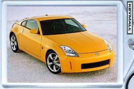 RARE KEYTAG YELLOW NISSAN 350Z Z CAR FAIRLADY LLAVERO PORTE CLE БРЕЛОК K... - $9.95