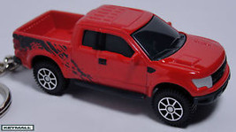 KEY CHAIN 2010~2011~2012~2013 RED FORD F150 RAPTOR NEW F-150 TRUCK 4X4 P... - $19.95