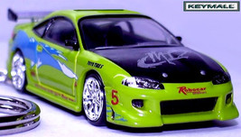 Key Chain Fast & Furious Mitsubishi Eclipse Porte Cle БРЕЛОК See Photo Below R - $99.95