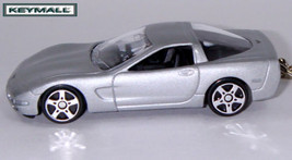 KEY CHAIN 1997~2004 SILVER CHEVY CORVETTE C5 PORTE CLE SEE PHOTO BELOW 1... - $19.97