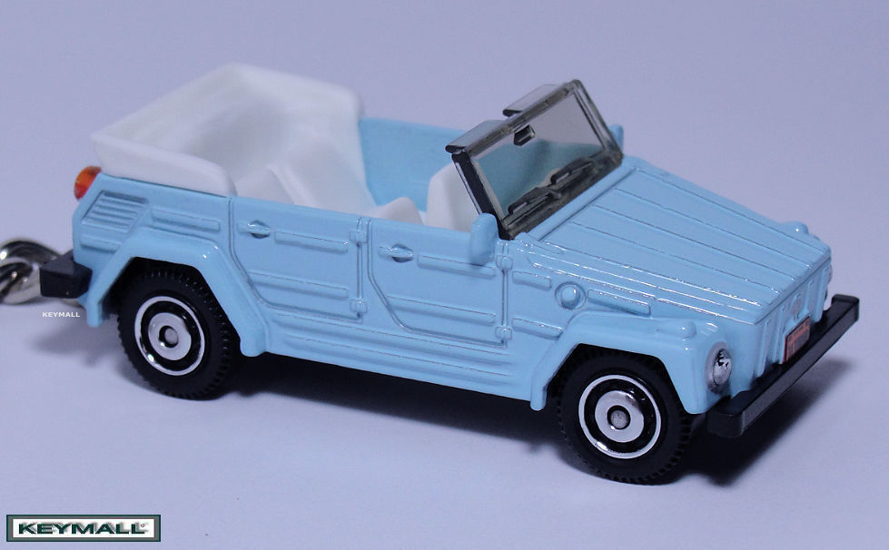 Primary image for KEY CHAIN BLUE VW THING 181 VOLKSWAGEN TREKKER LLAVERO SEE PHOTO BELOW 1/64 R