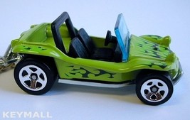 Key Chain Green Dune Buggy Vw Frog Beetle Volkswagon See Photo Below 1/64  R - $24.98