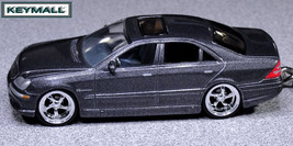 Rare Keychain Silver Grey Mercedes S Class S430 S500 S55 V8 Diecast 1/64 By Jada - $59.95