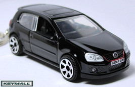 Key Chain Black Vw Golf G Ti V Volkswagen New Porte Cle See Photo Below 1/64 R - $32.95