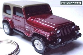 KEY CHAIN BROWN 1997~/2003/2004/2005/2006 JEEP WRANGLER SAHARA CUSTOM KE... - $35.95