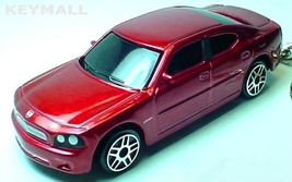 KEY CHAIN 2007/2008/2009/2010 RED REDFIRE DODGE CHARGER RT PORTE CLE LLA... - €18,10 EUR