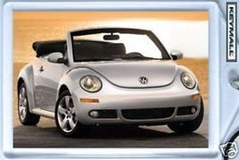 KEY CHAIN SILVER/GREY VW NEW BEETLE CONVERTIBLE... - $9.95