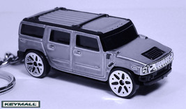 HTF KEY CHAIN SILVER GREY PEWTER HUMMER H2 NEW ... - $24.95