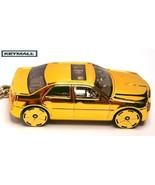 KEY CHAIN RING GOLD CHRYSLER 300C LLAVERO NEW P... - $28.95