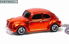 KEY CHAIN CANDY METAL FLAKE VW BUG BEETLE CUSTO... - $19.98