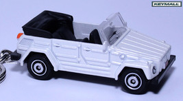 Key Chain White Vw Thing Trekker Volkswagen Kurierwagen See Photo Below 1/64 R - $34.94