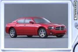 KEY CHAIN DARK RED NEW DODGE CHARGER R/T MOPAR KEYTAG БРЕЛОК LLAVERO POR... - $9.95
