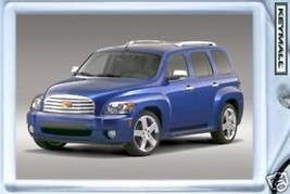 KEYTAG 2006/2007/2008/2009/2010/2011 BLUE CHEVY HHR KEY CHAIN PORTE CLE ... - $9.95