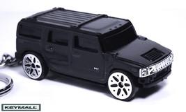 RARE KEY CHAIN RING BLACK HUMMER H2 NEW PORTE CLES LLAVERO CUSTOM KEY RI... - $28.95