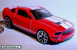 KEY CHAIN 08~2009~2010 RED FORD MUSTANG GT 500 PORTE CLE LIMITED EDITION... - $27.97