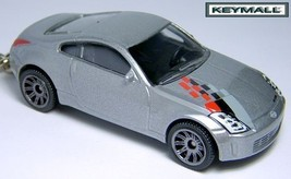 KEY CHAIN SILVER NISSAN 350Z Z CAR NISMO FAST & FURIOUS CUSTOM KEY RING ... - $34.95
