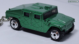 KEY CHAIN GREEN HUMMER HUMVEE H1 AM CORP US/USA LLAVERO CUSTOM KEY RING ... - $25.95