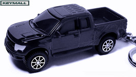 RARE KEY CHAIN BLACK FORD RAPTOR SVT F150 TRUCK... - $34.95